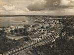 B.Pemandangan Kilang Minyak dari Gn. Sepuluh 1955 - 1960 (Coll